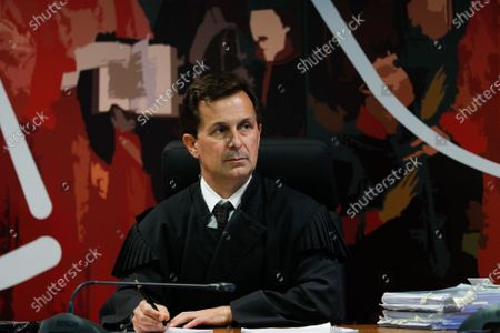 Judge Ivo Rosa during the fact-finding debate into the high-profile corruption case known as Operation Marques at the Justice Campus in Lisbon, Portugal, 09 March 2020. Operation Marques has 28 defendants - 19 people and 9 companies - including former Prime Minister Jose Socrates, banker Ricardo Salgado, businessman and friend of Socrates Carlos Santos Silva and senior staff of Portugal Telecom and is related to crimes of corruption, active and passive, money laundering, document forgery and tax fraud.