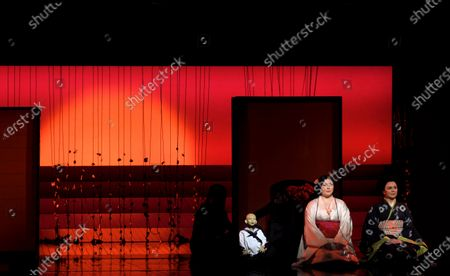 Stock Picture of Natalya Romaniw as Cio-Cio San and Stephanie Windsor-Lewis as Suzuki