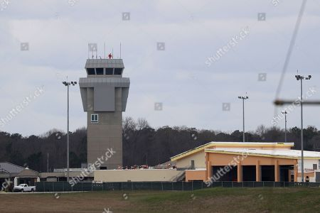 Dobbins Air Reserve Base is shown, in Marietta, Ga. Thirty-four Georgians are among the U.S. citizens expected to arrive at the base on either Monday night or Tuesday morning, Georgia Gov. Brian Kemp said in a news release