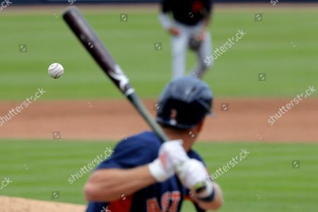 Editorial picture of Tigers Astros Spring Baseball, West Palm Beach, USA - 09 Mar 2020