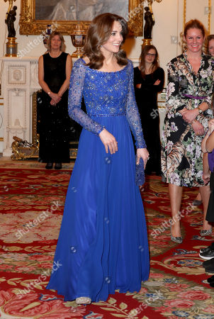 Editorial picture of Place2Be 25th Anniversary Gala Dinner, Buckingham Palace, London, UK - 09 Mar 2020