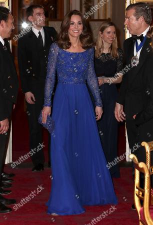 Editorial image of Place2Be 25th Anniversary Gala Dinner, Buckingham Palace, London, UK - 09 Mar 2020