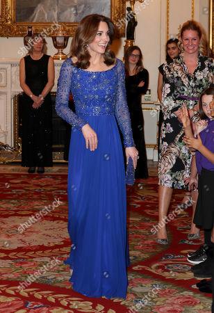Editorial photo of Place2Be 25th Anniversary Gala Dinner, Buckingham Palace, London, UK - 09 Mar 2020