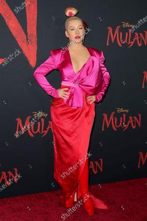 Stock Photo of Christina Aguilera