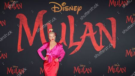 Editorial photo of 'Mulan' film premiere, Arrivals, Los Angeles, USA - 09 Mar 2020