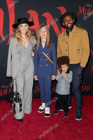 Allison Holker and family