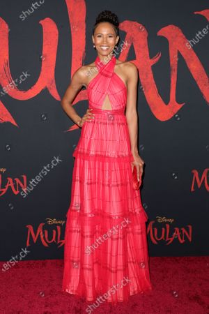 Editorial image of 'Mulan' film premiere, Arrivals, Los Angeles, USA - 09 Mar 2020