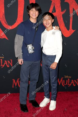 Forrest Wheeler and Ian Chen
