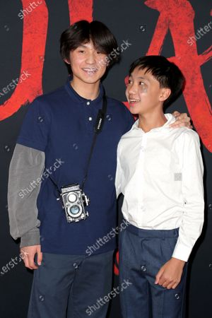 Stock Picture of Forrest Wheeler and Ian Chen