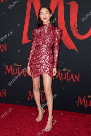 Stock Picture of Madison Hu