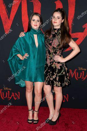 Laura Marano and Vanessa Marano