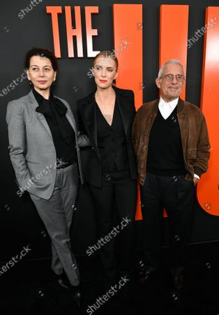 Stock Image of Donna Langley, Betty Gilpin and Ron Meyer