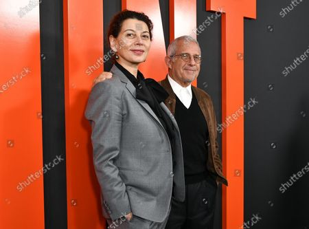 Stock Picture of Donna Langley and Ron Meyer