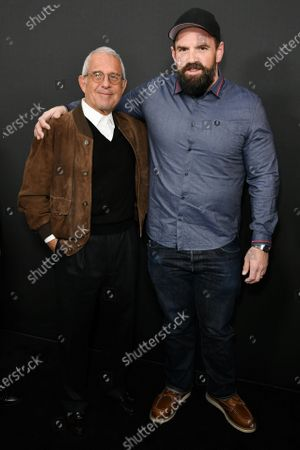 Stock Photo of Ron Meyer and Ethan Suplee