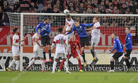 Editorial photo of Football: Germany, 2. Bundesliga, Stuttgart - 09 Mar 2020