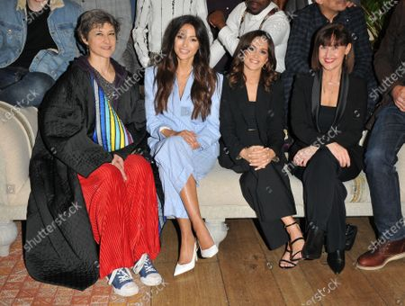 Badria Timimi, Michelle Keegan, Amy-Leigh Hickman and Angela Lonsdale