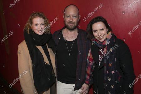 Zoe Boyle, John Tiffany and Kate O'Flynn