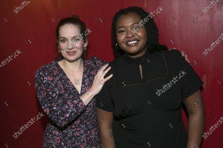 Katherine Parkinson (Viv) and Kayla Meikle (Elaine)