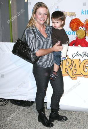 Stock Image of Melissa Joan Hart and son Braydon Hart Wilkerson