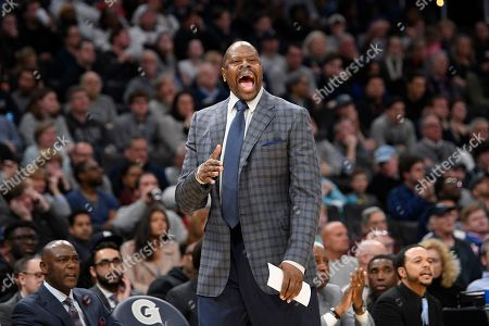 Editorial photo of Villanova Georgetown Basketball, Washington, USA - 07 Mar 2020