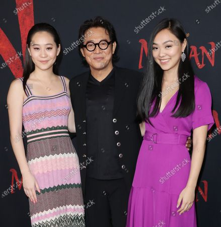 Jet Li and family