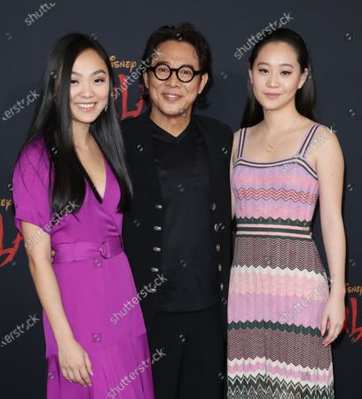 Jet Li nad family