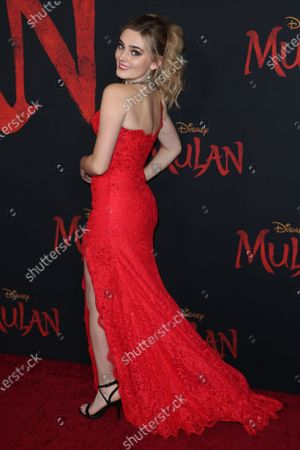 Stock Picture of Meg Donnelly