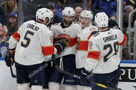 Editorial photo of Panthers Blues Hockey, St. Louis, USA - 09 Mar 2020