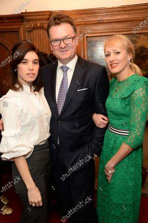 Gala Gordon, Ewan Venters and Isabella MacPherson