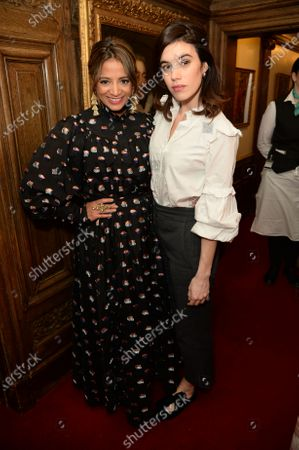 Stock Picture of Katy Wickremesinghe and Gala Gordon