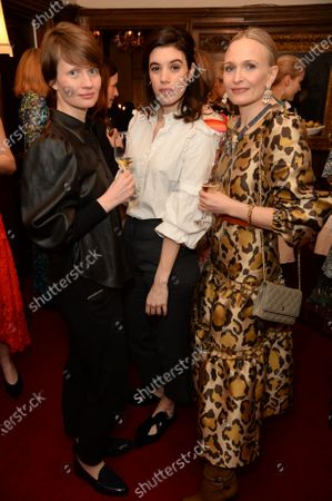 Editorial photo of KTW Monday Muse dinner, Fortnum's, London, UK - 09 Mar 2020