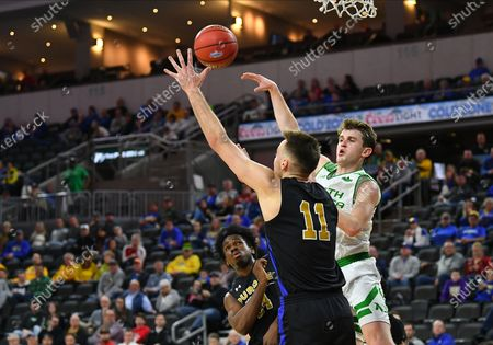 Editorial photo of NCAA Men's Basketball Purdue Fort Wayne v North Dakota, Sioux Falls, USA - 09 Mar 2020