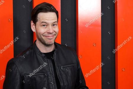 """Ike Barinholtz arrives at the LA Special Screening of """"The Hunt,"""" at the ArcLight Hollywood, in Los Angeles"""