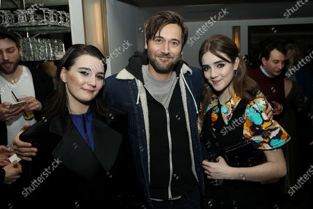 Stock Photo of Sidney Flanigan, Ryan Eggold, Talia Ryder