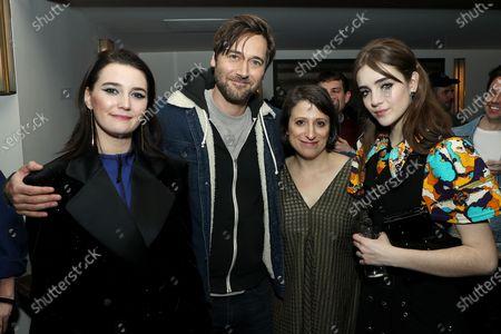 Sidney Flanigan, Ryan Eggold, Eliza Hittman (Writer, Director), Talia Ryder