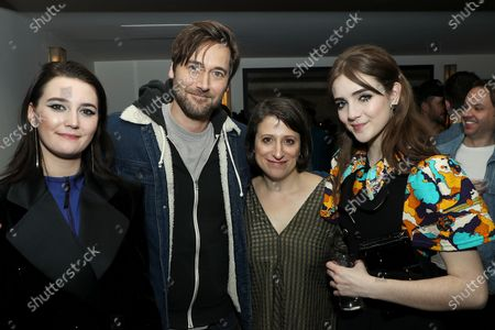 Stock Picture of Sidney Flanigan, Ryan Eggold, Eliza Hittman (Writer, Director), Talia Ryder
