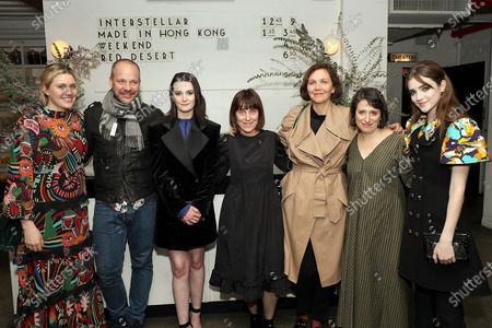 Greta Gerwig, Peter Sarsgaard, Sidney Flanigan, Caren Spruch(Planned Parenthood), Maggie Gyllenhaal, Eliza Hittman (Writer, Director), Talia Ryder