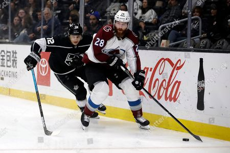 Editorial photo of Avalanche Kings Hockey, Los Angeles, USA - 09 Mar 2020