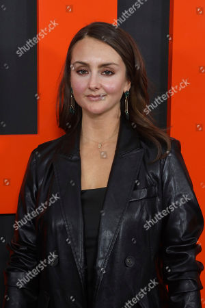 """Stock Photo of Sylvia Grace Crim arrives at the LA Special Screening of """"The Hunt"""" at the ArcLight Hollywood on in Los Angeles"""