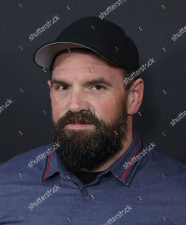 """Stock Image of Ethan Suplee arrives at the LA Special Screening of """"The Hunt"""" at the ArcLight Hollywood on in Los Angeles"""