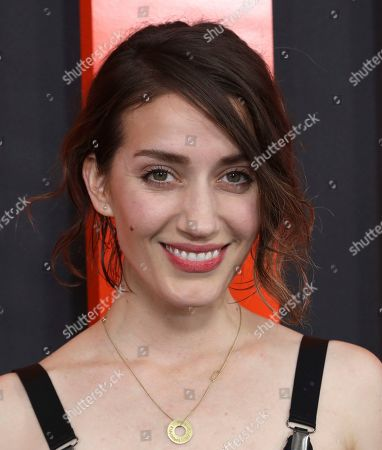 """Teri Wyble arrives at the LA Special Screening of """"The Hunt"""" at the ArcLight Hollywood on in Los Angeles"""