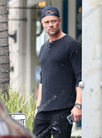 Editorial image of Josh Duhamel out and about, Los Angeles, USA - 09 Mar 2020