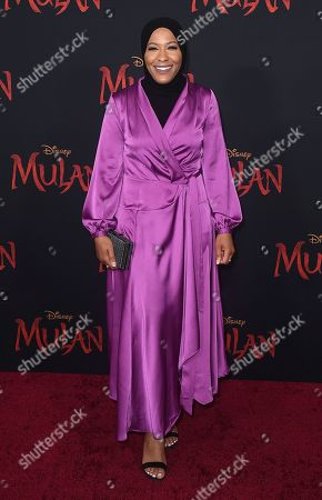 """Editorial picture of Premiere of """"Mulan"""" - Arrivals, Los Angeles, USA - 09 Mar 2020"""