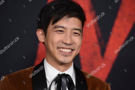 """Jimmy Wong arrives at the Los Angeles premiere of """"Mulan"""" at the Dolby Theatre on"""