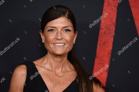 """Ruthie Davis arrives at the Los Angeles premiere of """"Mulan"""" at the Dolby Theatre on"""