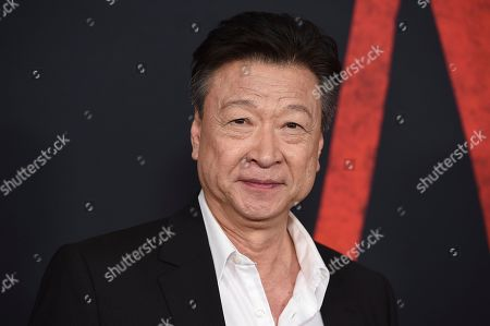 """Tzi Ma arrives at the Los Angeles premiere of """"Mulan"""" at the Dolby Theatre on"""