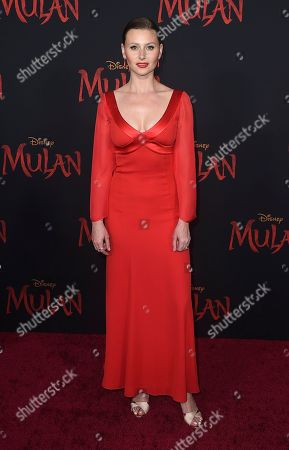 "Editorial photo of Premiere of ""Mulan"" - Arrivals, Los Angeles, USA - 09 Mar 2020"