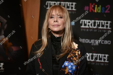 """Stock Picture of Rosanna Arquette attends the LA premiere of """"My Truth: The Rape of 2 Coreys"""" at the Directors Guild of America, in Los Angeles"""