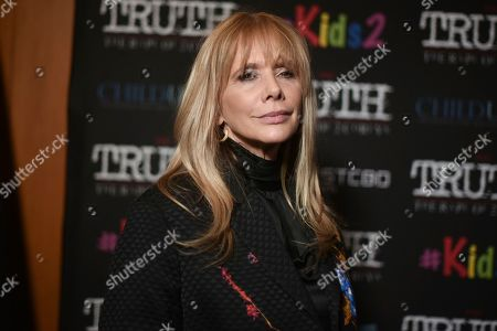 """Rosanna Arquette attends the LA premiere of """"My Truth: The Rape of 2 Coreys"""" at the Directors Guild of America, in Los Angeles"""