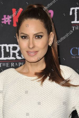 """Kerri Kasem attends the LA premiere of """"My Truth: The Rape of 2 Coreys"""" at the Directors Guild of America, in Los Angeles"""